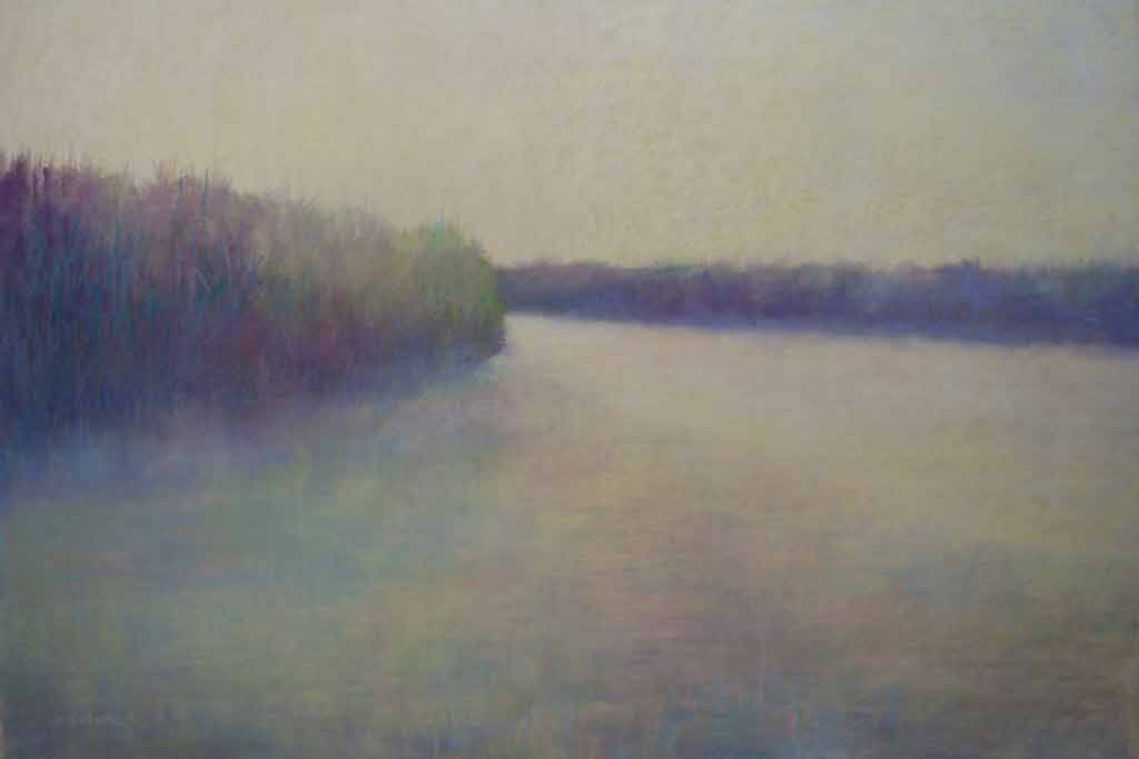 Broadkill River, painting by Artist, Nick Serratore