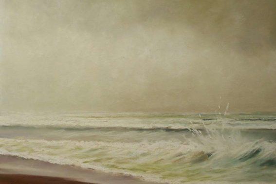 Cape Storm, painting by Artist, Nick Serratore