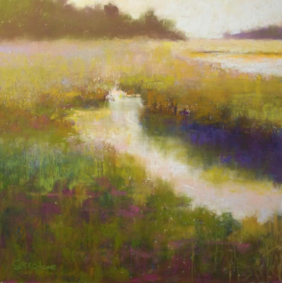 Glade Colors, painting by Artist, Nick Serratore