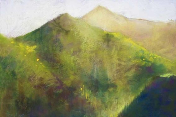 Mountain View No. 2, painting by Artist, Nick Serratore