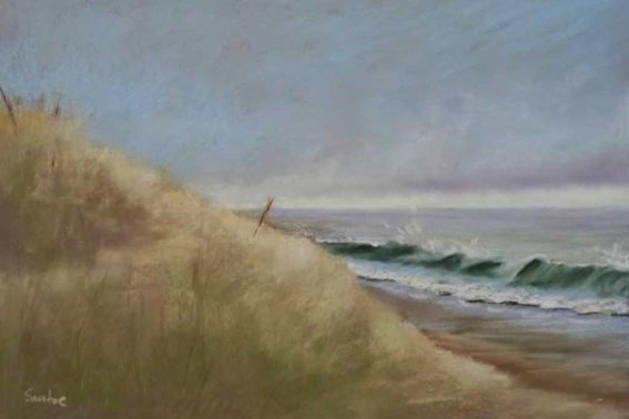 Sand Dune, painting by Artist, Nick Serratore