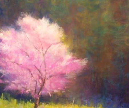 Spring Blossoms, painting by Artist, Nick Serratore