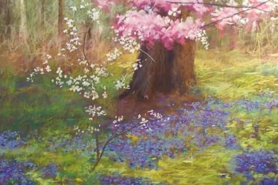 The Rite of Spring, painting by Artist, Nick Serratore