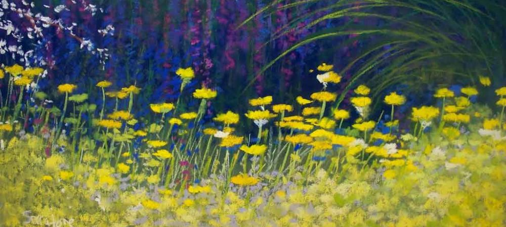 Spring Mix, painting by Artist, Nick Serratore