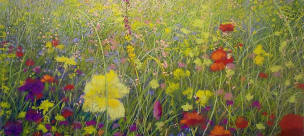 Wildflower Series II, painting by Artist, Nick Serratore