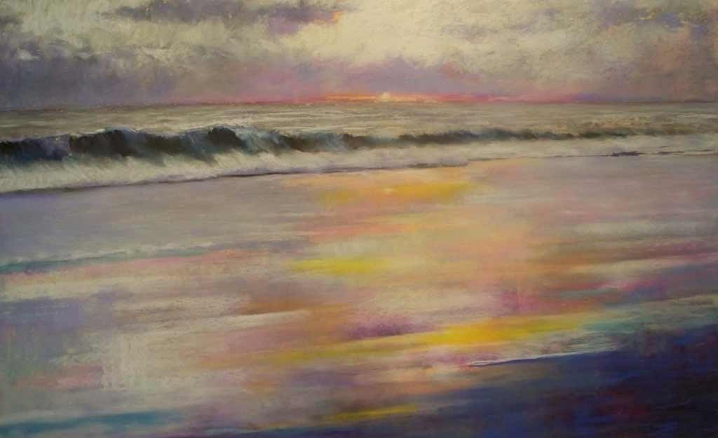 North Shore, painting by Artist, Nick Serratore