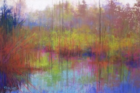 Waters Edge, painting by Artist, Nick Serratore