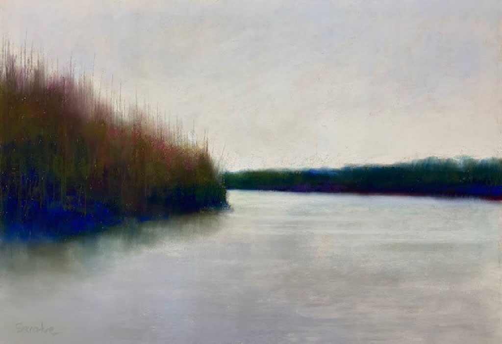 Bend in the River by Artist, Nick Serratore.